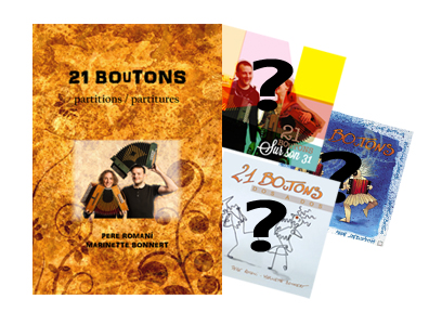 Book and 3 cds of 21 BOuTONS, Pere Romaní