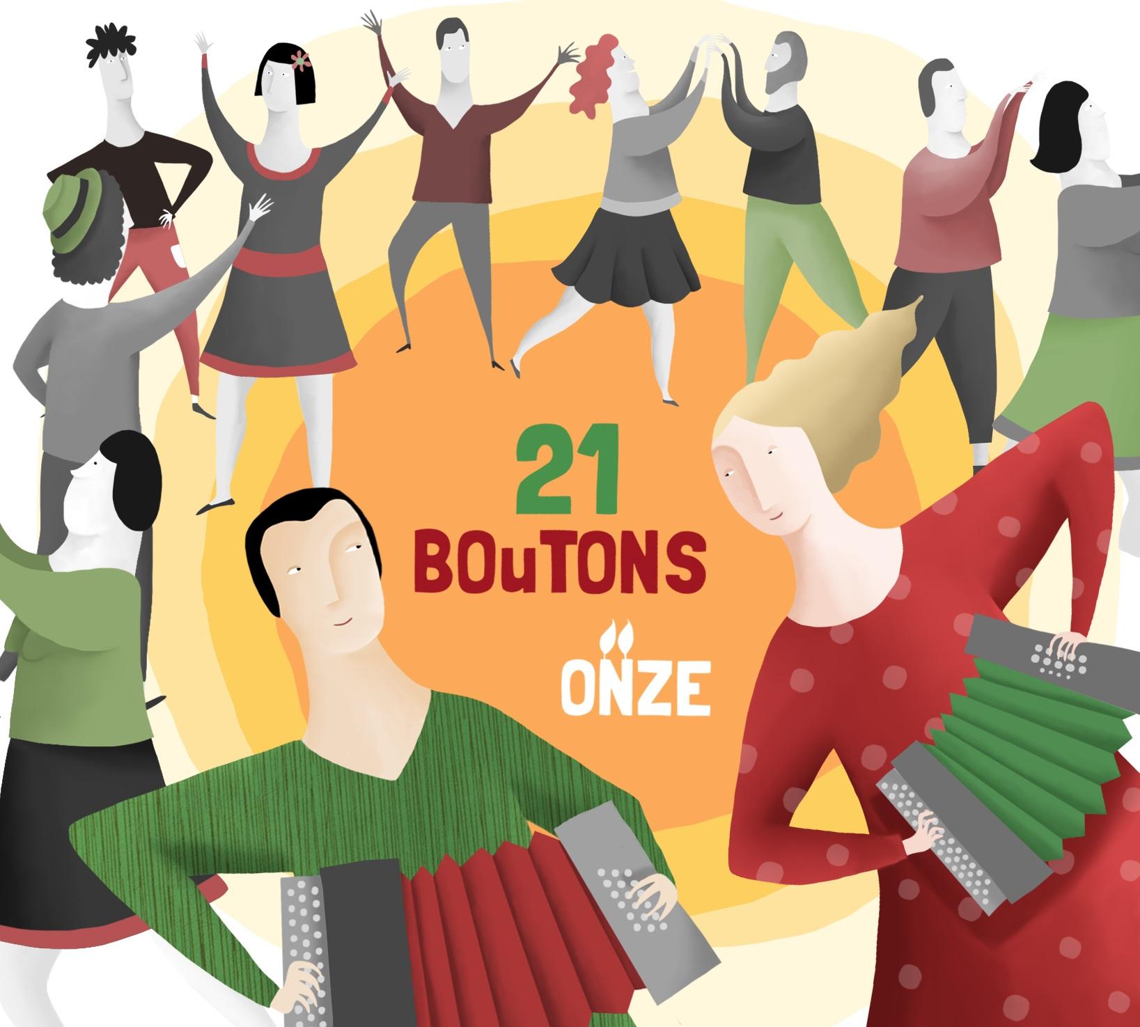 Cd ONZE - BOuTONS